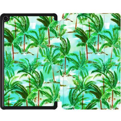 Amazon Fire 7 (2017) Tablet Smart Case - Palm Tree Green  von Amy Sia