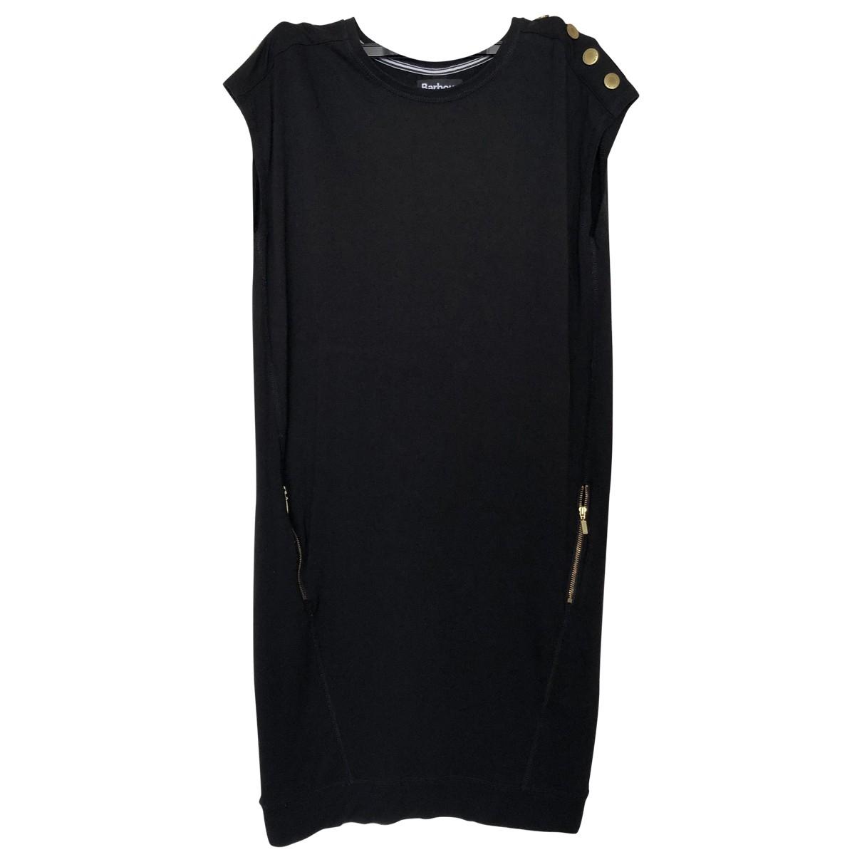 Barbour \N Kleid in  Schwarz Baumwolle - Elasthan