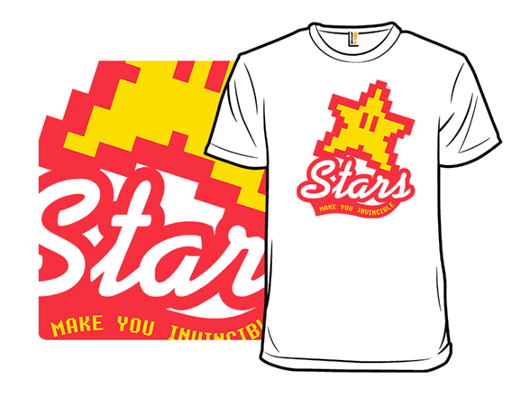 Stars Make You Invincible T Shirt