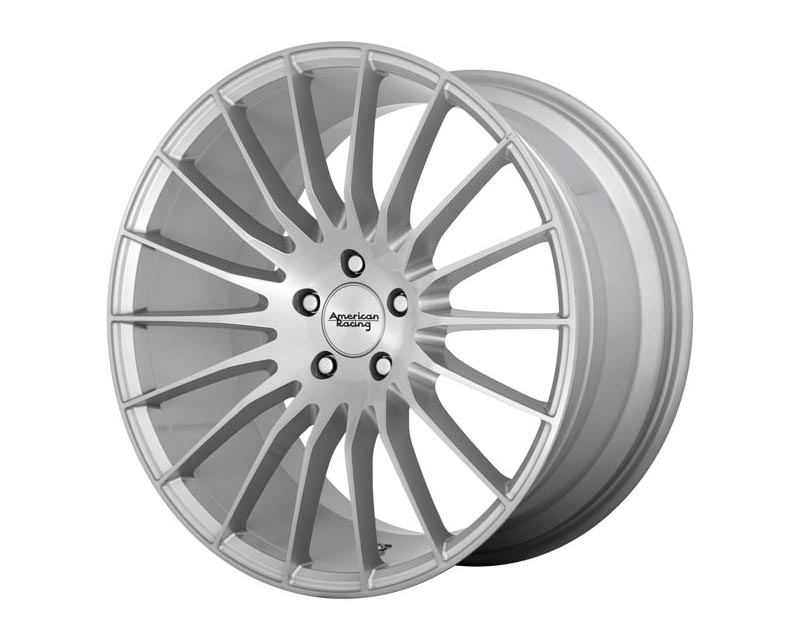 American Racing AR934 Fastlane Wheel 18x8 5X4.5 38mm Brushed Silver