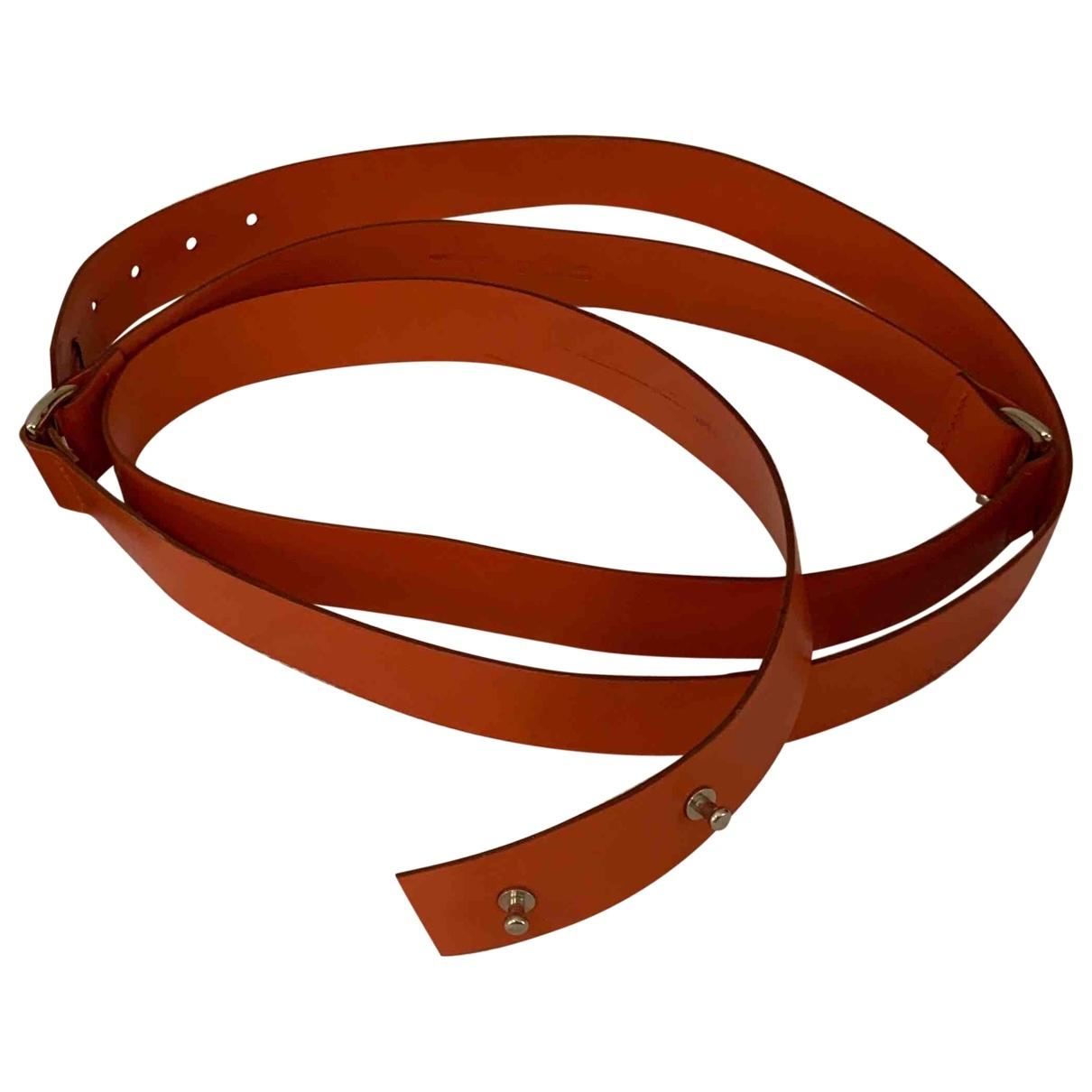 Cinturon de Cuero Amanda Wakeley