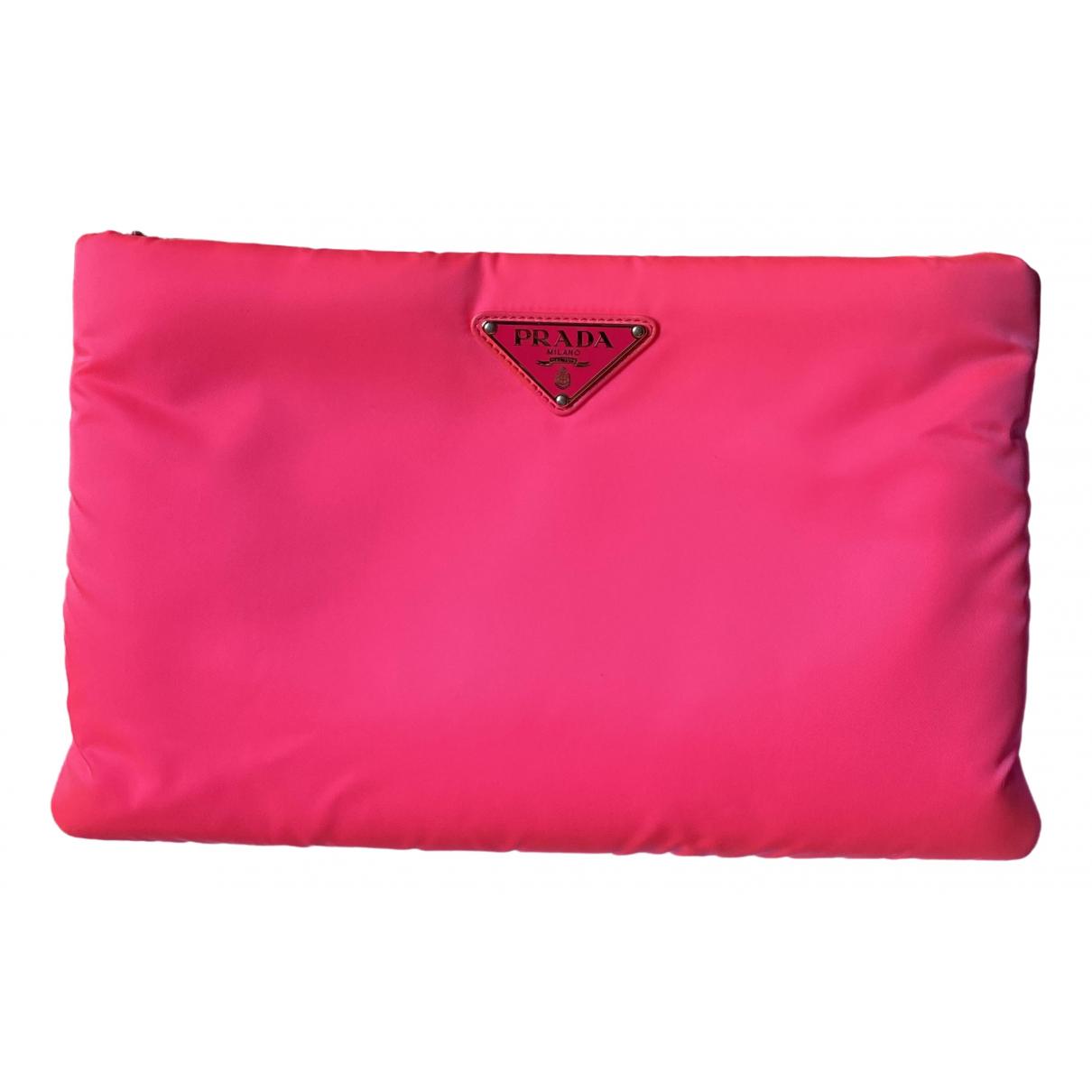 Prada \N Pink Clutch bag for Women \N