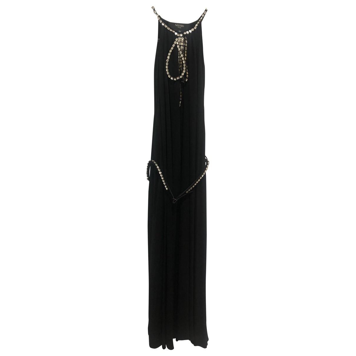 Azzaro \N Kleid in  Schwarz Viskose