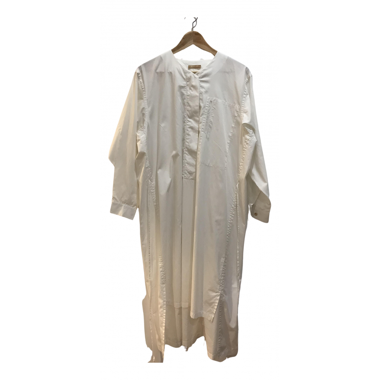Nehera \N Kleid in  Weiss Baumwolle