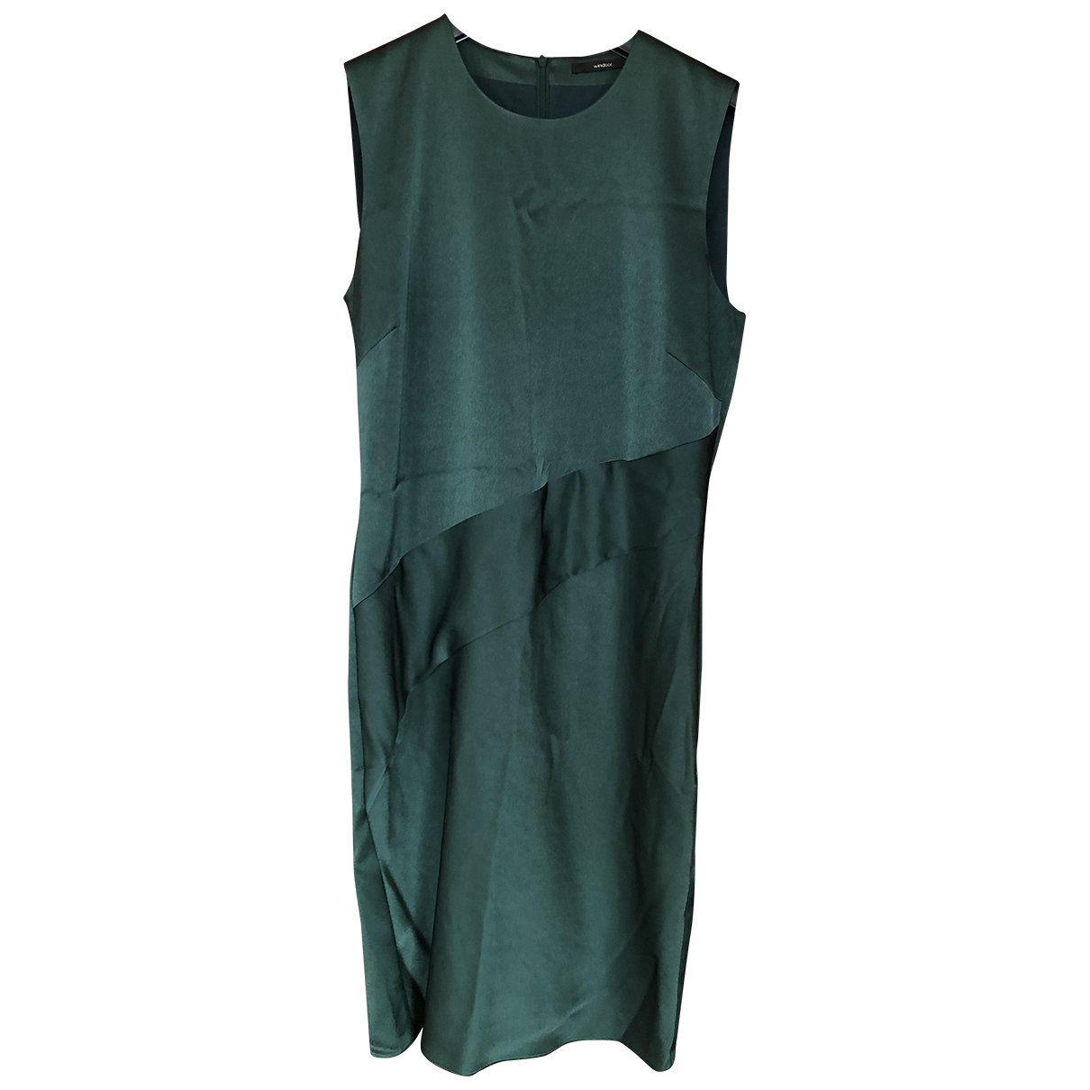 Windsor \N Kleid in  Gruen Polyester