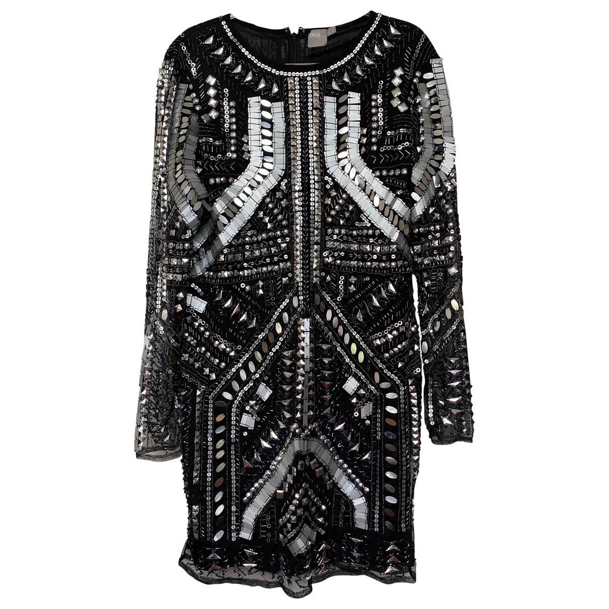 Asos \N Kleid in  Schwarz Mit Pailletten