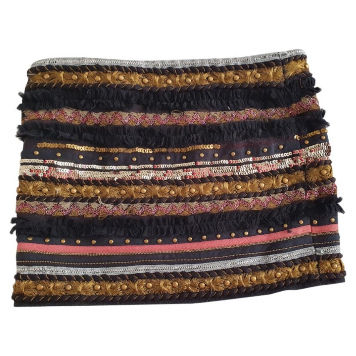 Ba&sh \N Multicolour Glitter skirt for Women 34 FR