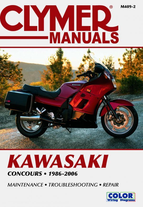 Kawasaki ZG1000 Concours Motorcycle (1986-2006) Service Repair Manual