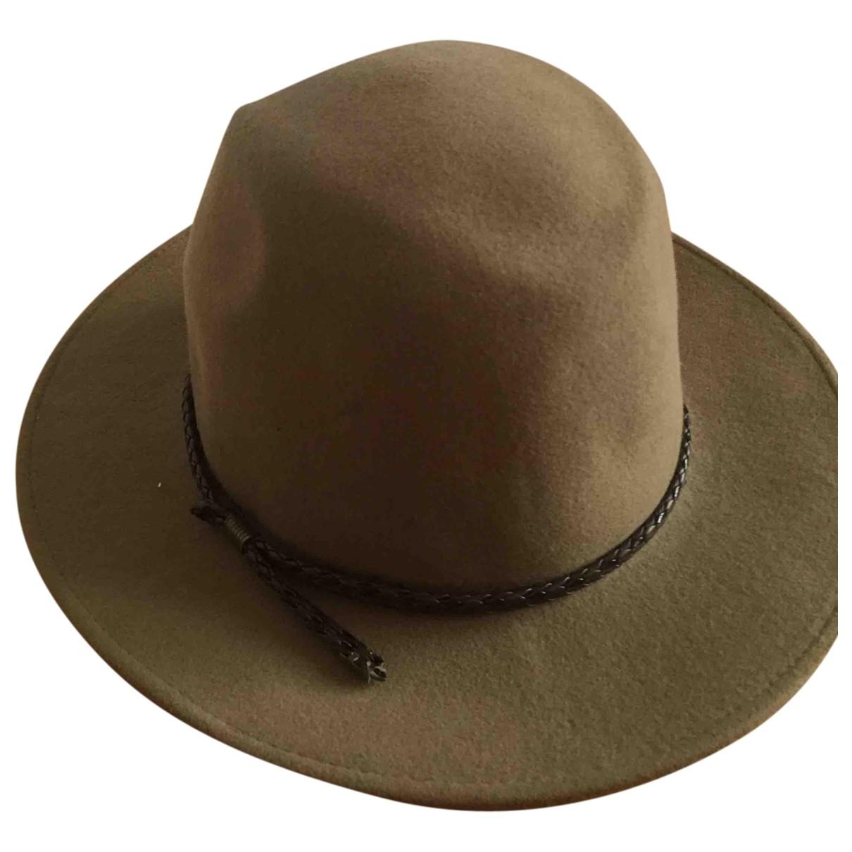 - Chapeau   pour femme en laine - beige
