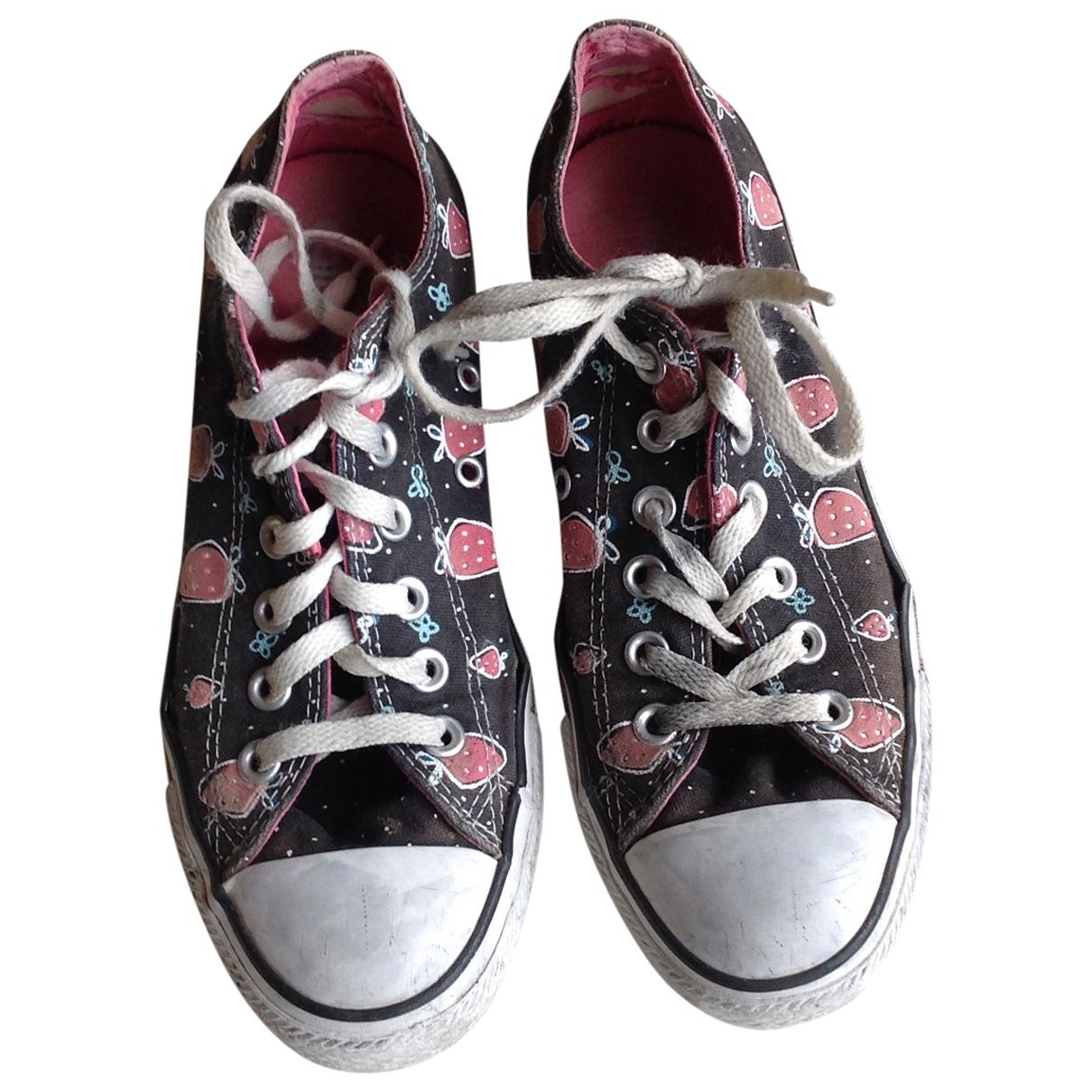 Converse \N Sneakers in  Bunt Leinen
