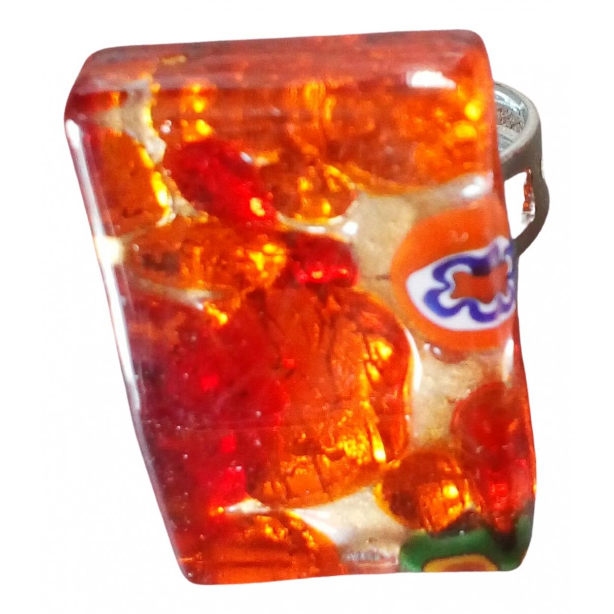 - Bague   pour femme en verre - multicolore