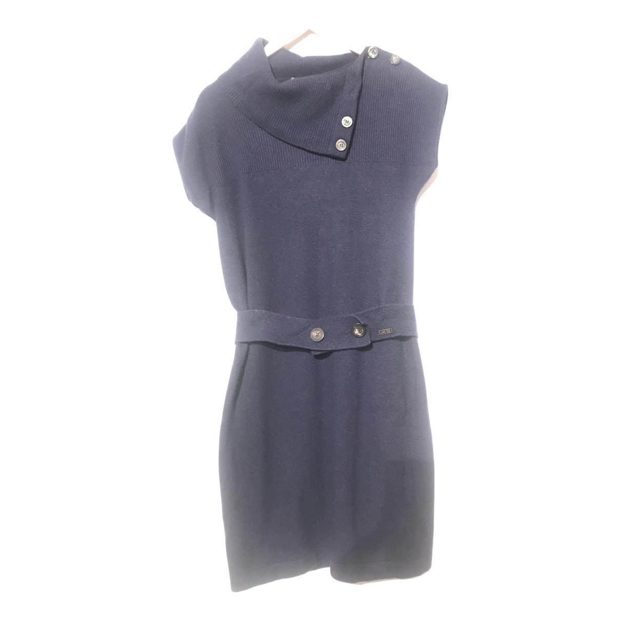 Iceberg N Blue Wool dress for Women M International