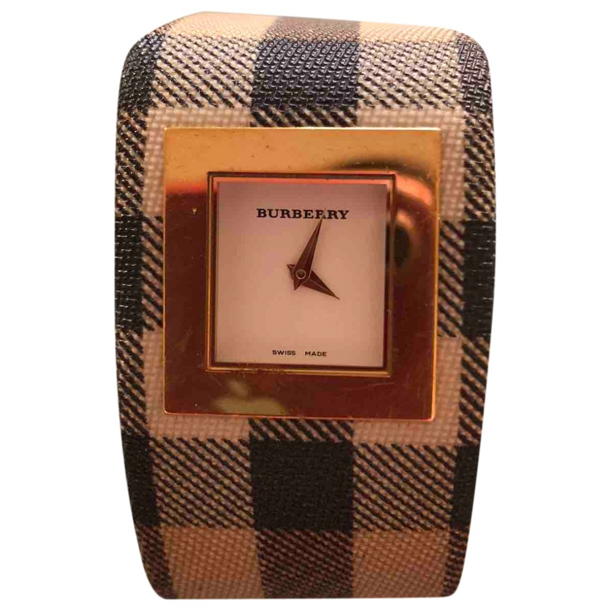 Burberry \N Uhr in Stahl