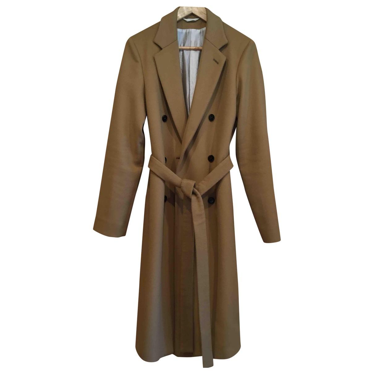Ann Demeulemeester - Manteau   pour homme en cachemire - beige