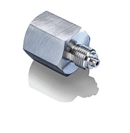 Bourdon Stainless Steel 1000 bars Pressure Gauge Adapter
