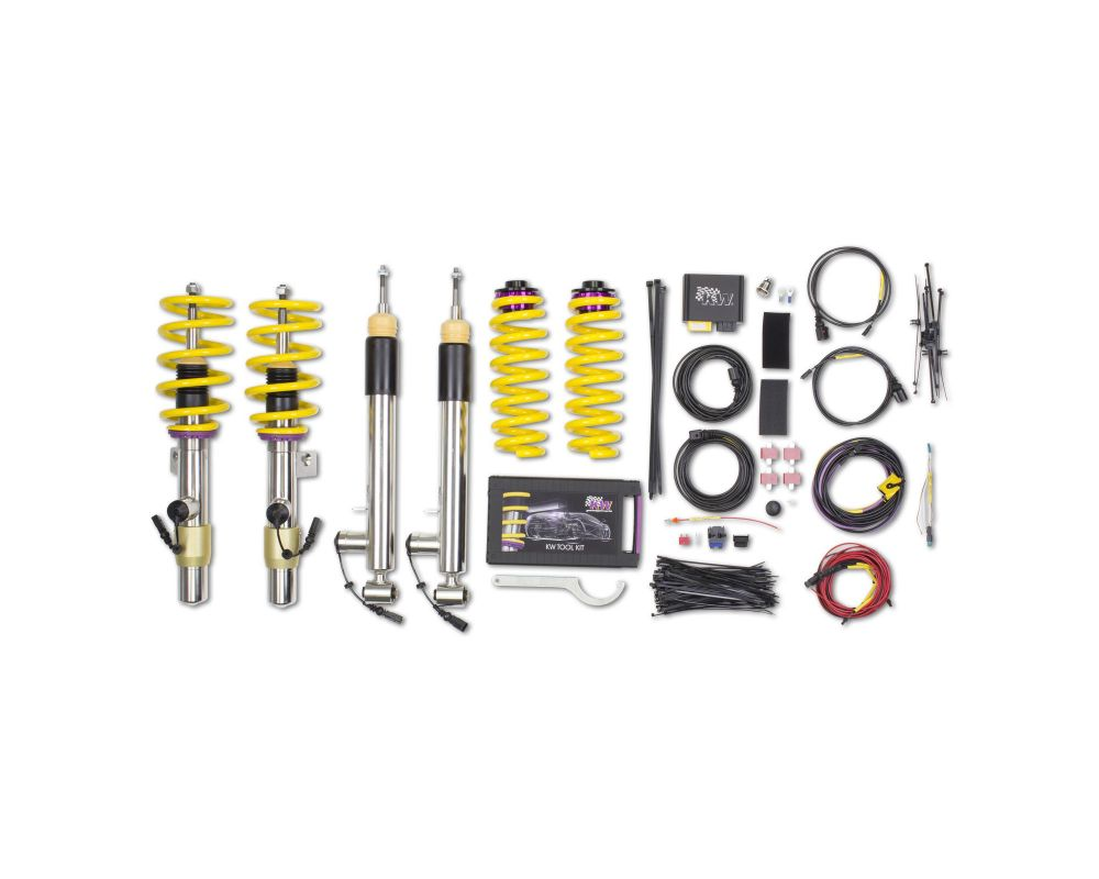 KW DDC ECU Coilover Kit BMW 1-Series M Coupe 2011-2012