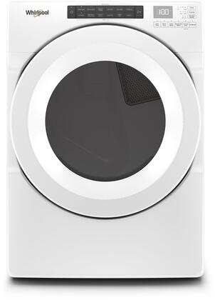WGD5620HW Gas Dryer with 7.4 cu. ft. Capacity  12 Cycles  4 Options  4 Temperature Options  Sensor Dry  EcoBoost  and Wrinkle Shield  in