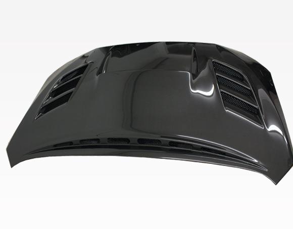 VIS Racing 15SBWRX4DVS2-010C VS 2 Style Black Carbon Fiber Hood Subaru WRX 15-20