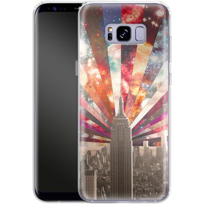 Samsung Galaxy S8 Plus Silikon Handyhuelle - Superstar New York von Bianca Green