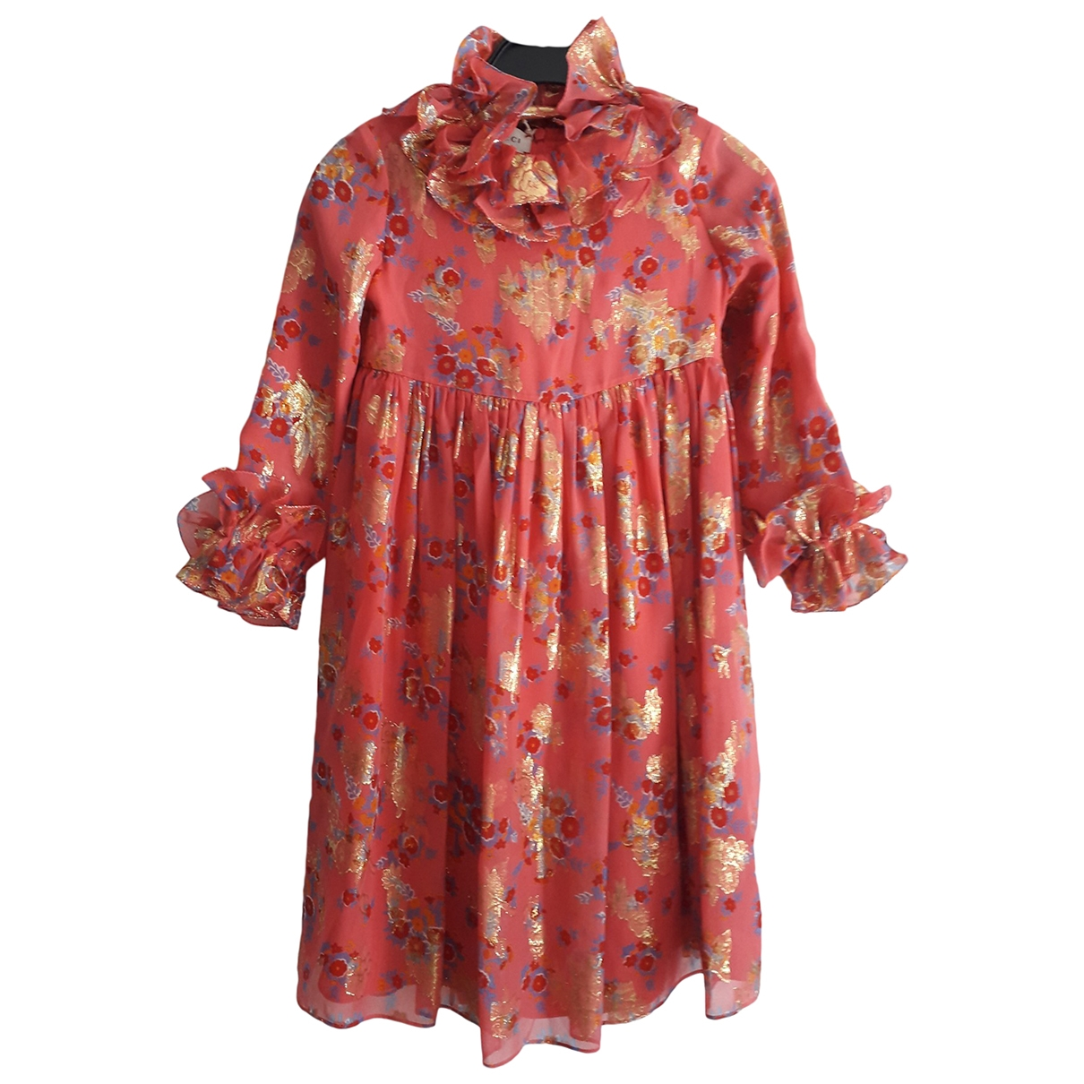Gucci - Robe    pour enfant en soie - rose