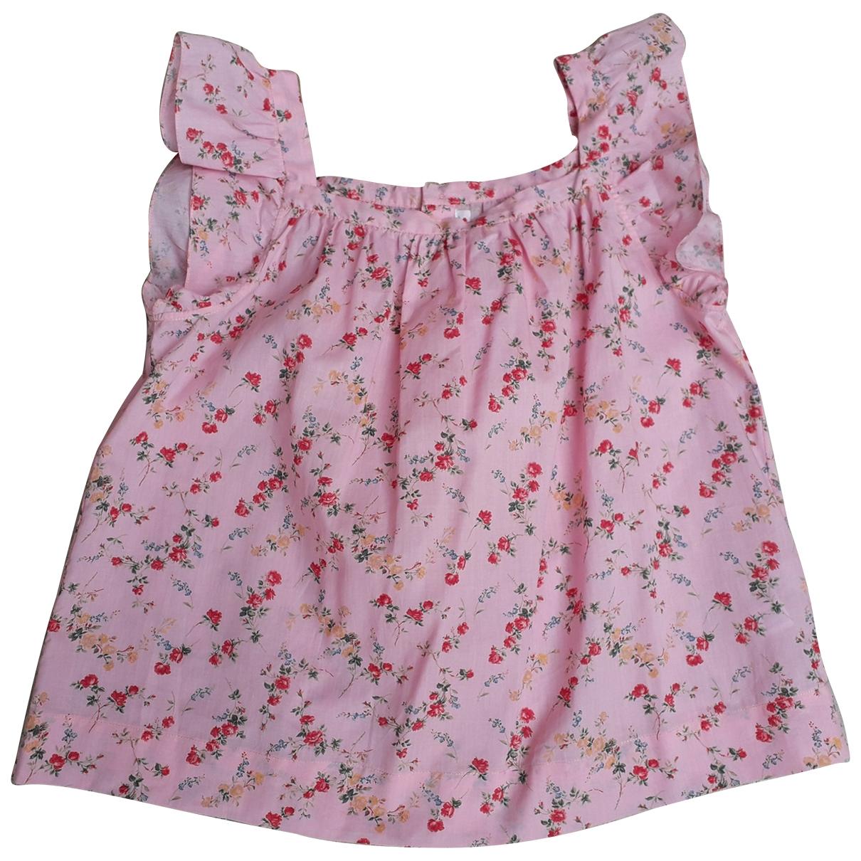 Bonpoint - Top   pour enfant en coton - rose