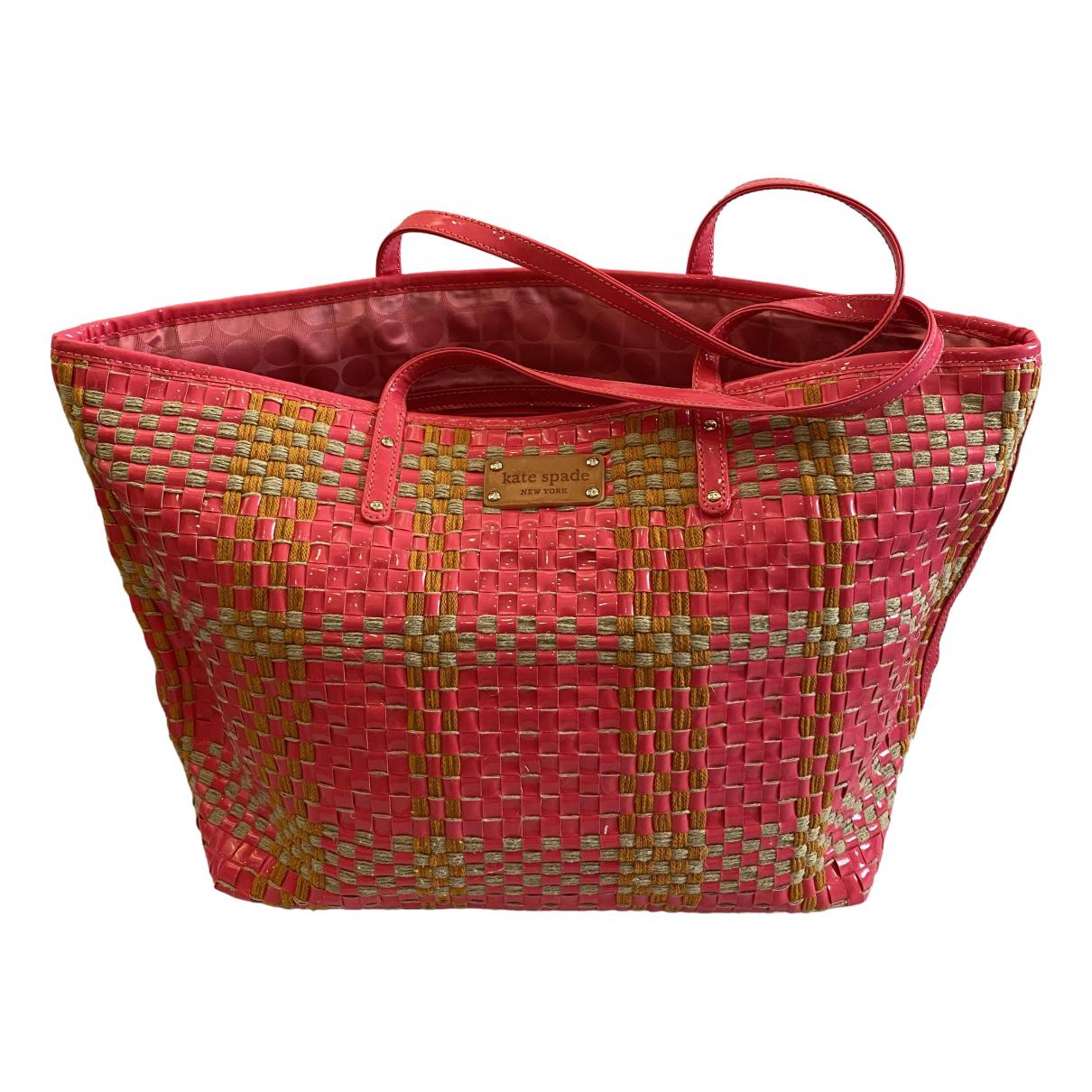 Kate Spade \N Handtasche in  Rosa Kunststoff