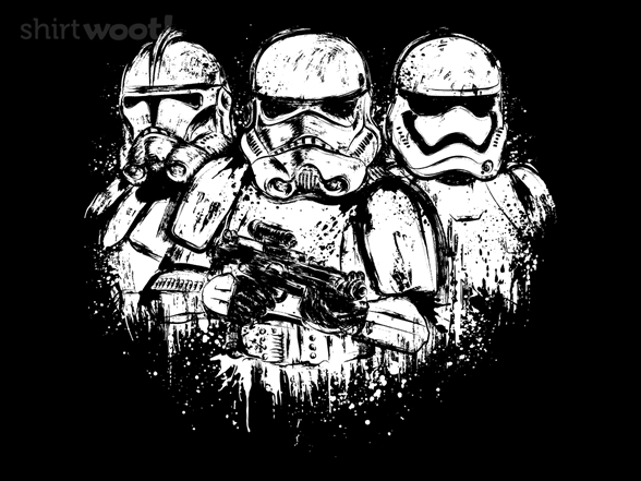Trooper Trio T Shirt