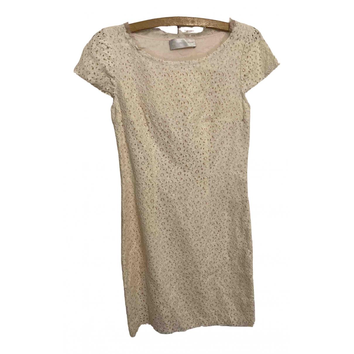 Zadig & Voltaire \N Kleid in  Beige Baumwolle