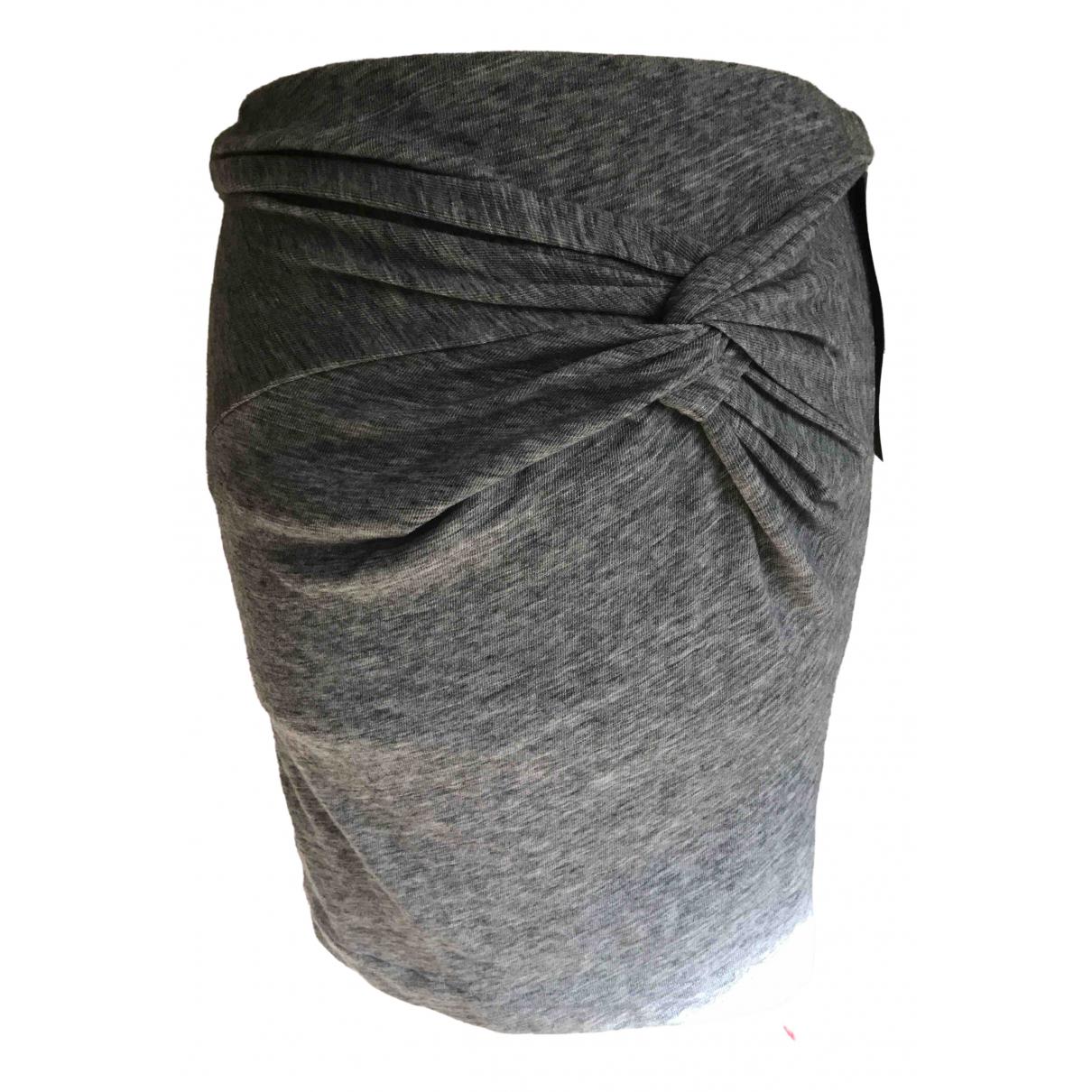 Iro - Jupe Fall Winter 2019 pour femme en laine - gris