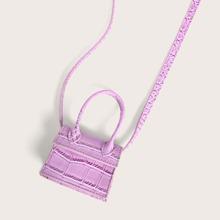 Mini Handtasche mit Griff oben