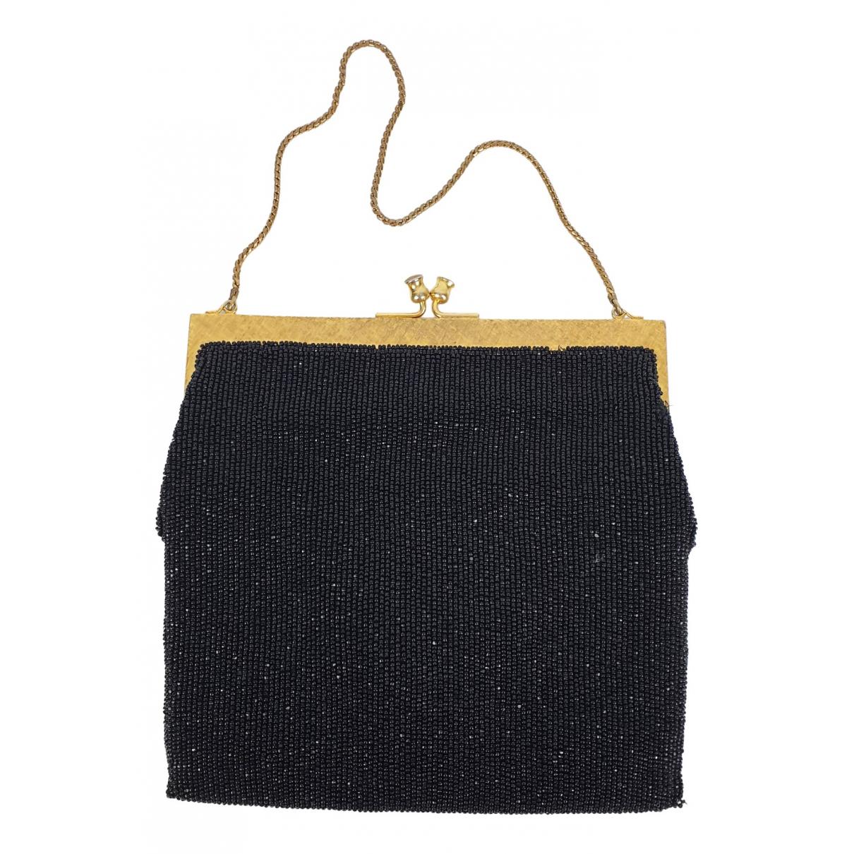 - Pochette Hippie Chic pour femme en a paillettes - noir