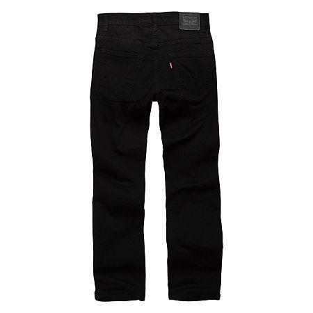 Levi's Big Boys 511 Slim Fit Jean, 14 , Black