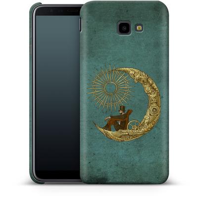 Samsung Galaxy J4 Plus Smartphone Huelle - Moon Travel von Eric Fan