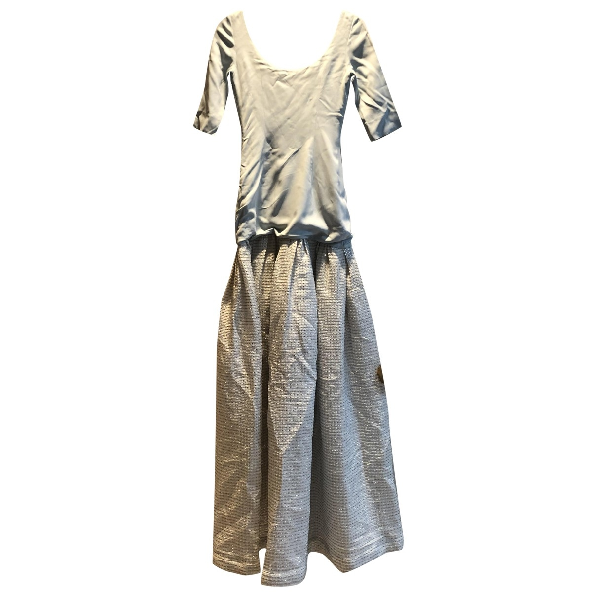 Alessandra Rich \N Kleid in  Bunt Synthetik