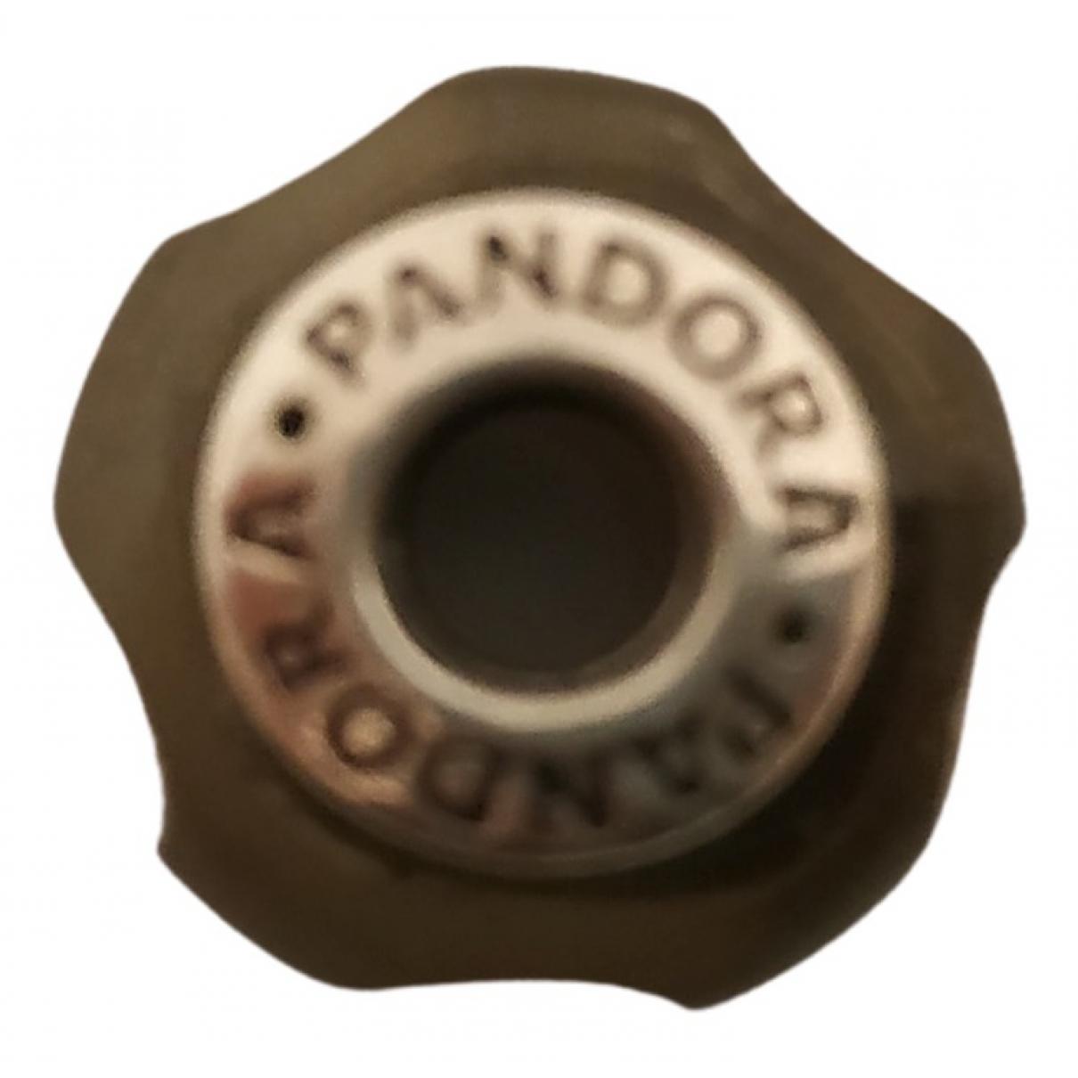 Pandora - Pendentif   pour femme en argent - noir