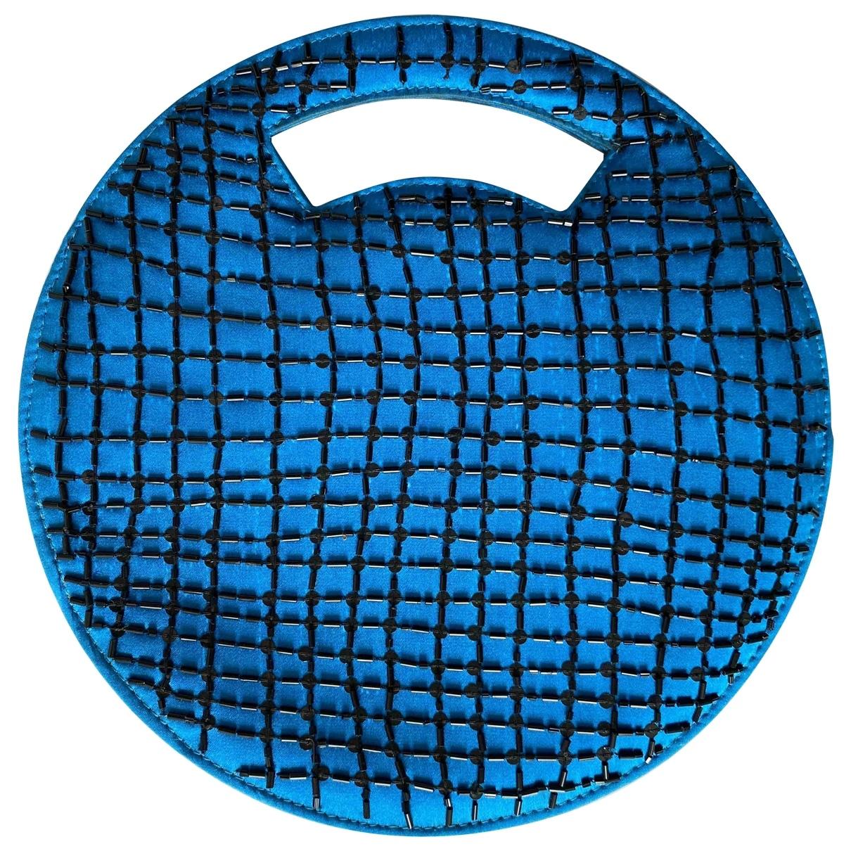 Emporio Armani \N Blue Silk handbag for Women \N