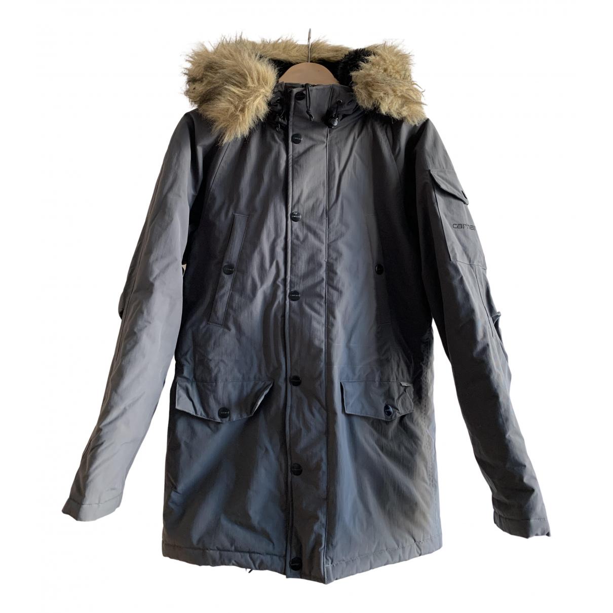 Carhartt - Manteau   pour homme - gris
