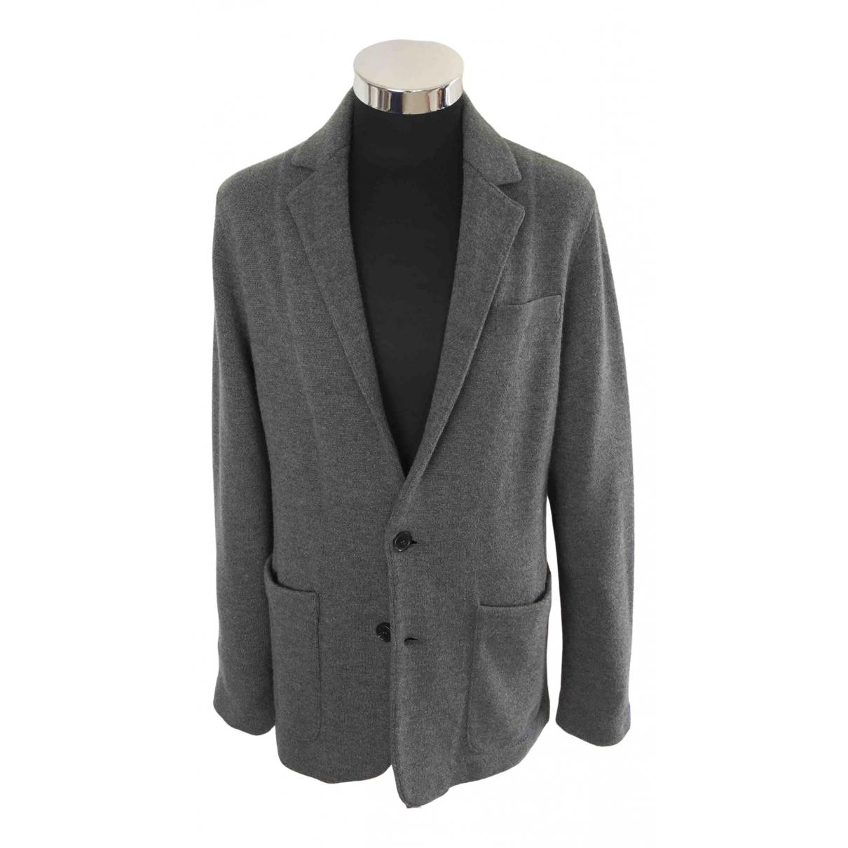 Ralph Lauren Purple Label - Vestes.Blousons   pour homme en laine - gris