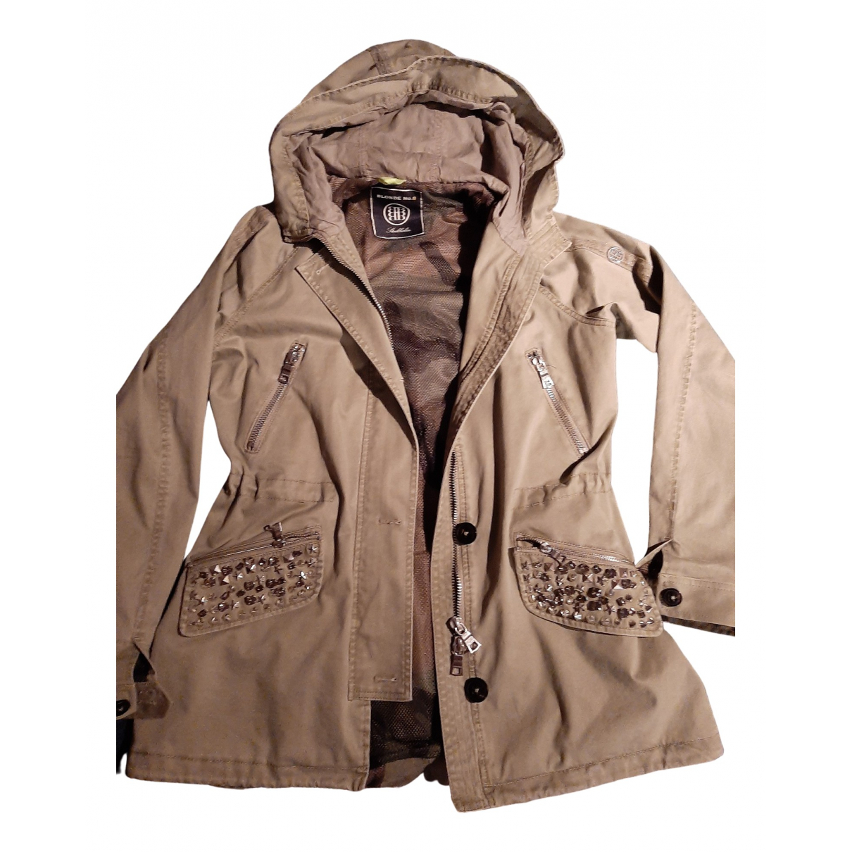 Blonde No.8 N Khaki Cotton jacket for Women 38 FR