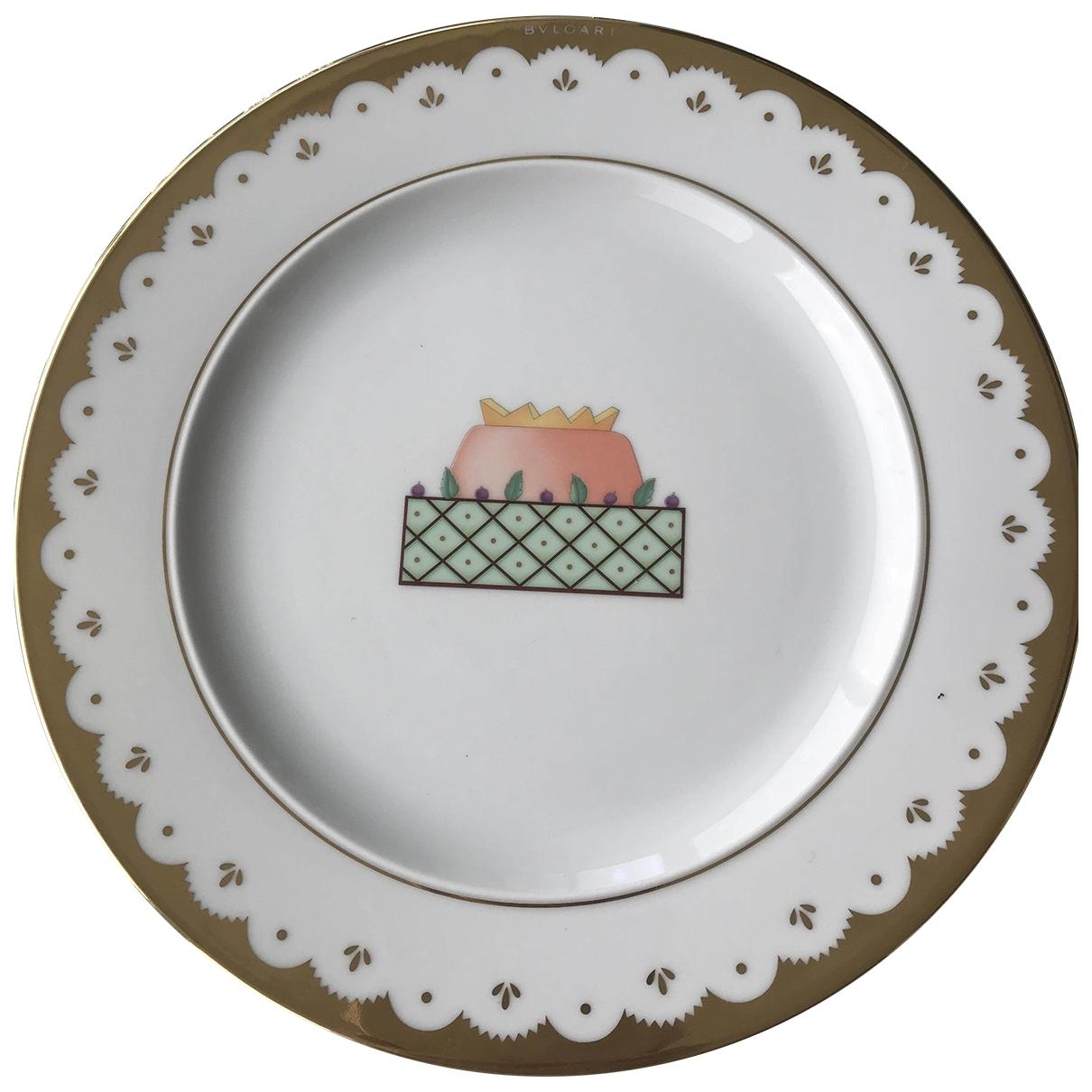 Bvlgari - Arts de la table   pour lifestyle en porcelaine - blanc