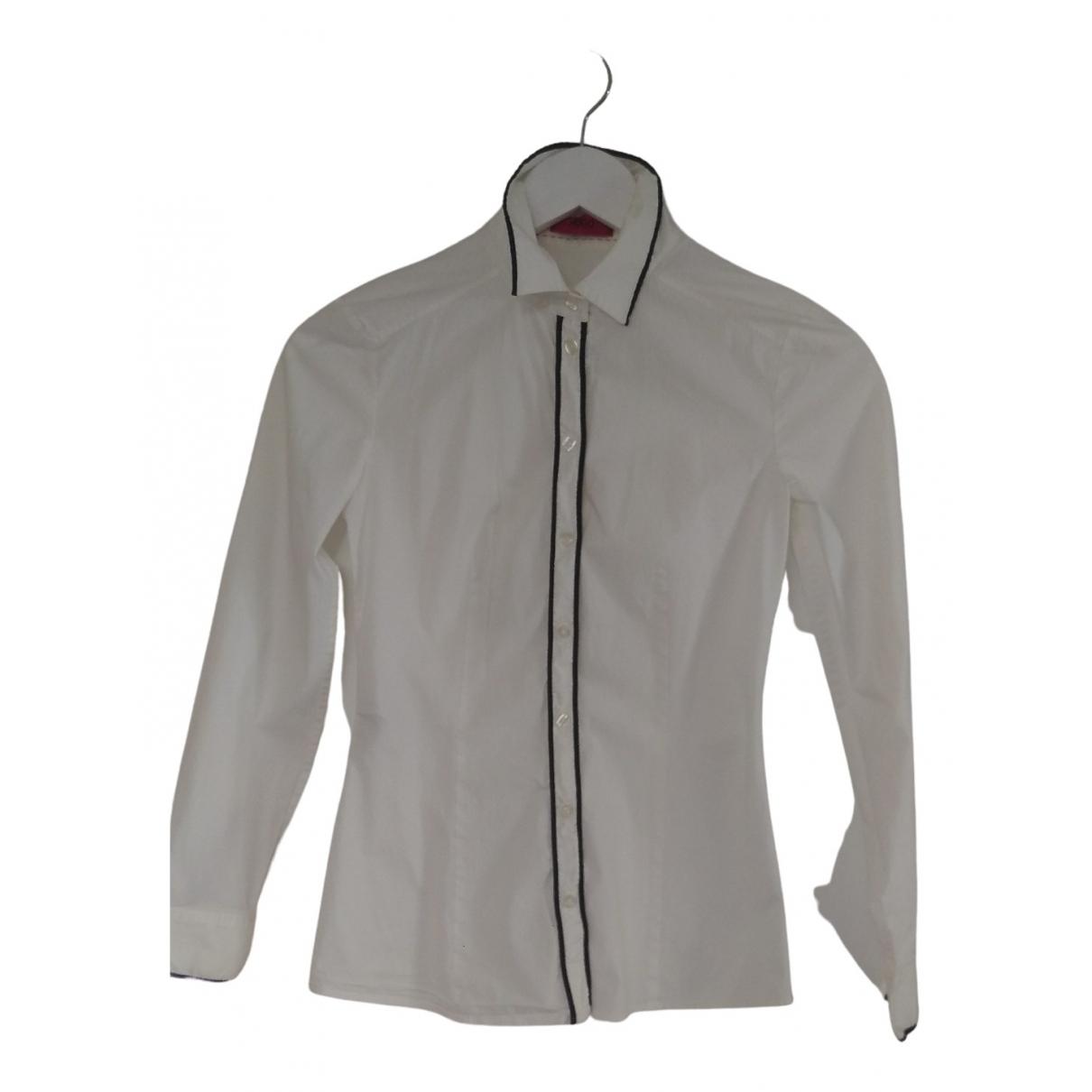 Hugo Boss \N White Cotton  top for Women 36 IT