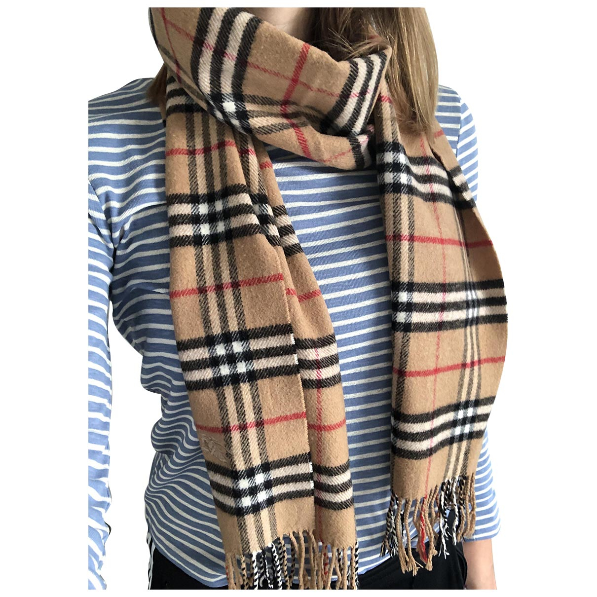 Burberry \N Camel Wool scarf for Women \N