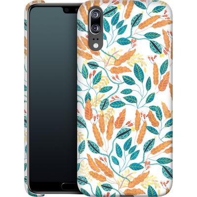 Huawei P20 Smartphone Huelle - Wild Leaves von Iisa Monttinen