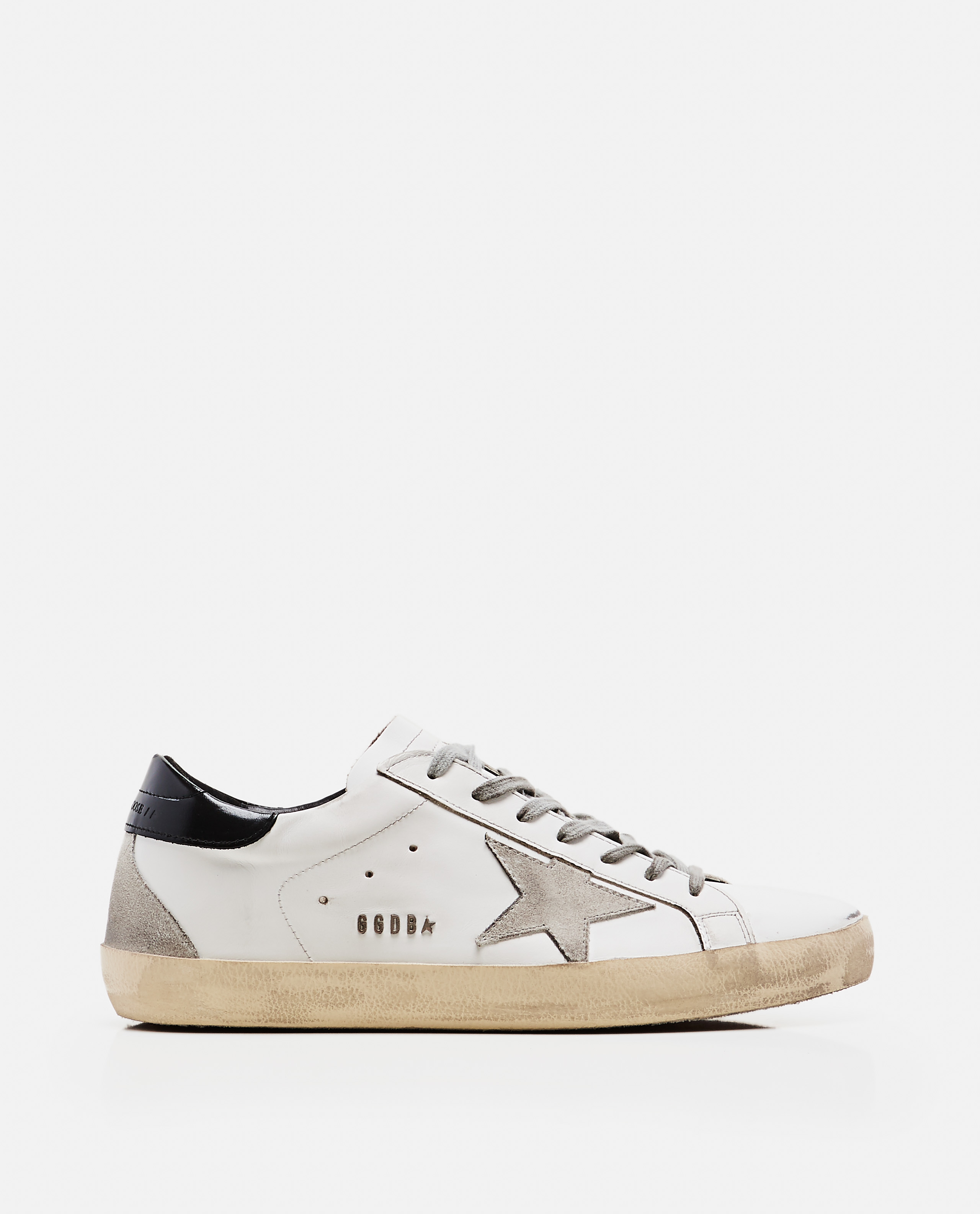 'Superstar' sneakers in leather and suede