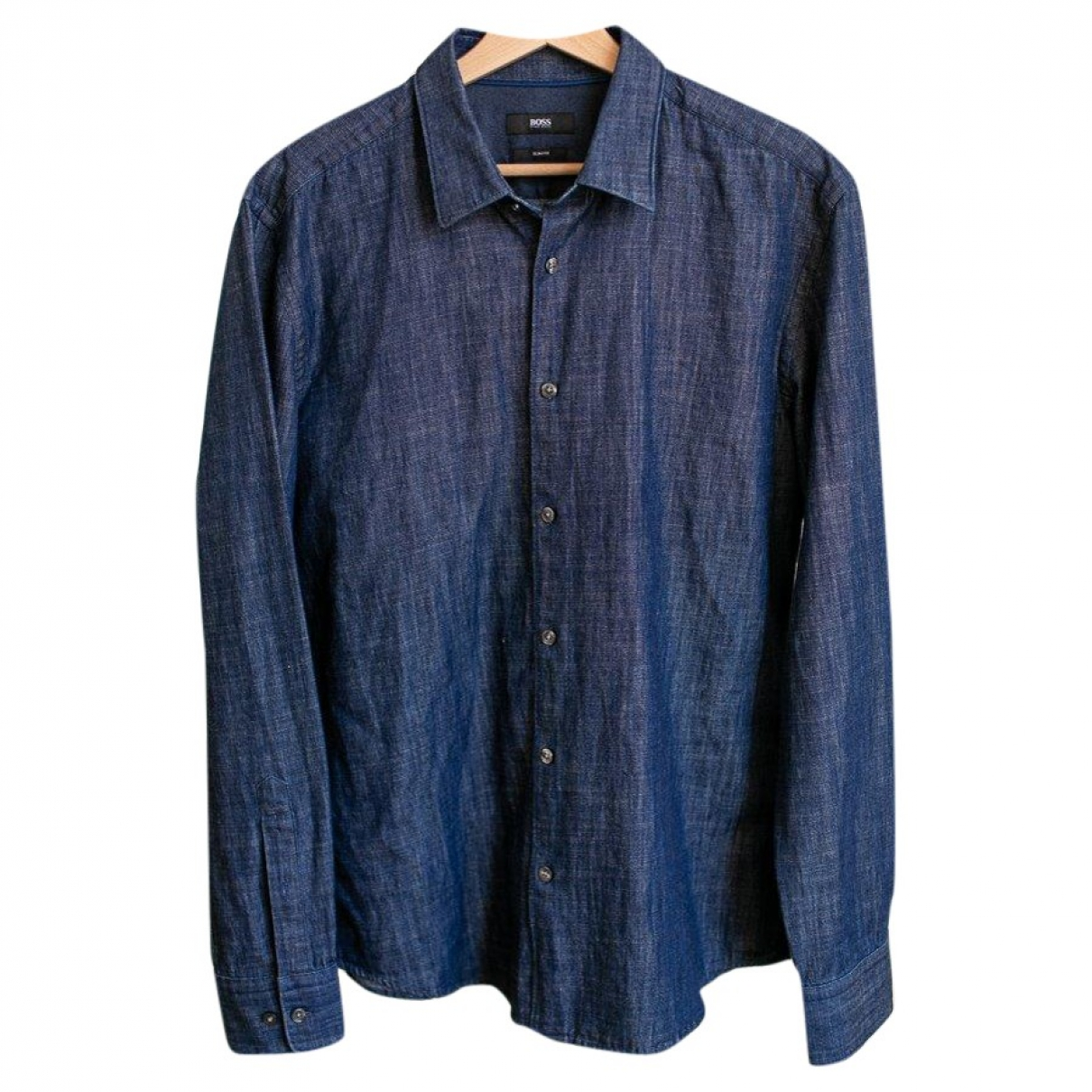 Boss \N Blue Denim - Jeans Shirts for Men L International