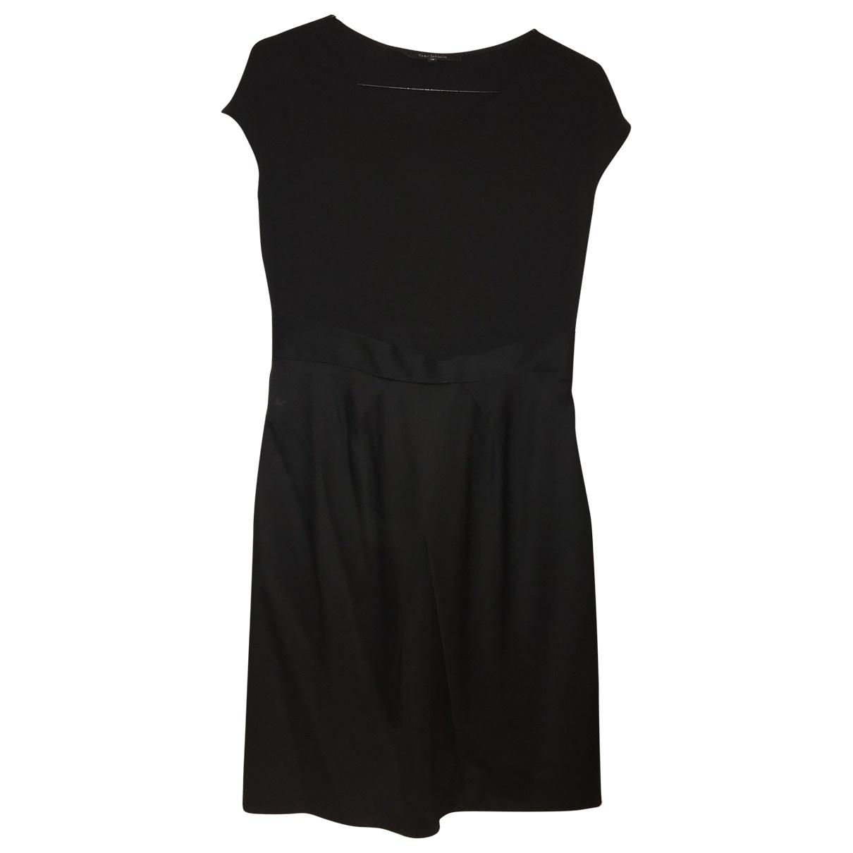 Tara Jarmon \N Kleid in  Schwarz Wolle