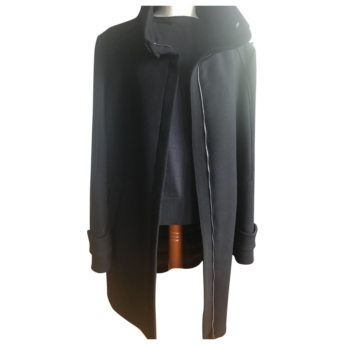 Moncler - Manteau Classic pour femme en laine - noir