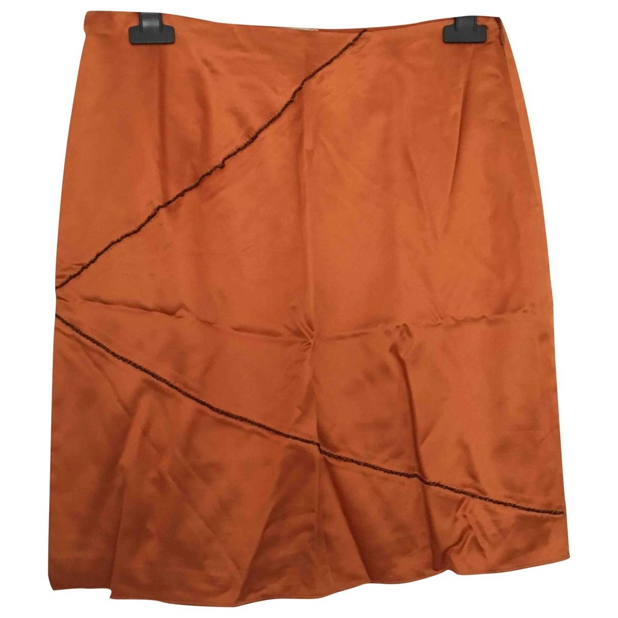 Blumarine \N Rocke in  Orange Synthetik