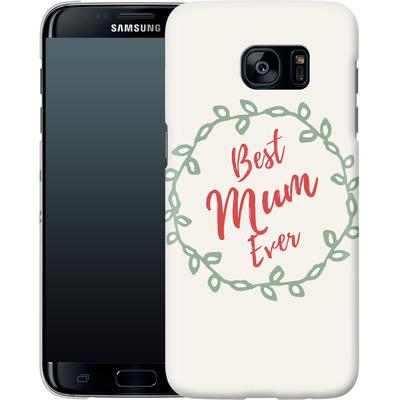 Samsung Galaxy S7 Edge Smartphone Huelle - Best Mum Ever von caseable Designs