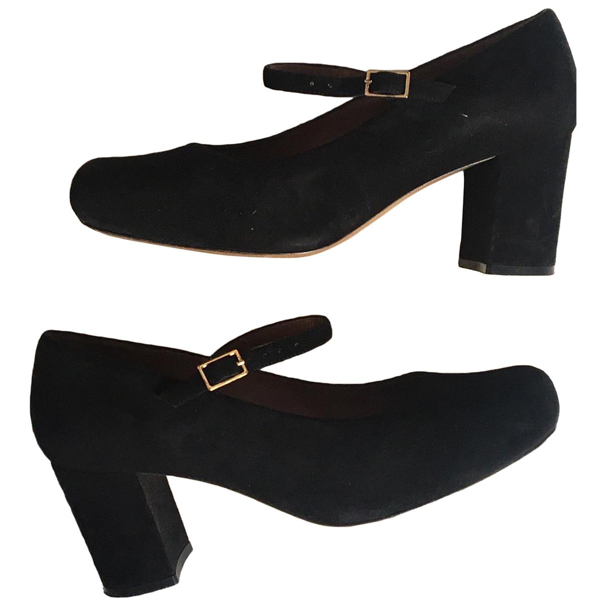 Marni \N Black Suede Heels for Women 37 IT